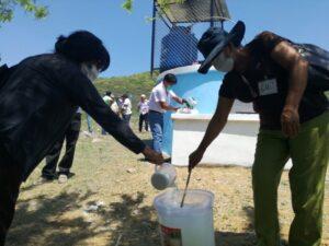 II Taller de Capacitación a los miembros de las JASS, Operacion y mantenimiento preventivo de los sistemas de agua I parte en caserio hualas 22-04-18 (9)