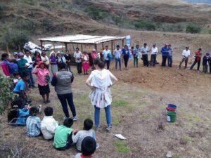 Inauguración zanja sanitaria y jornada sensibilización_La Lima_Faique