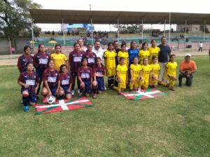 Inauguracion y 1era fecha de Copa Femenina de Futbol LDFP en Catacaos 130719