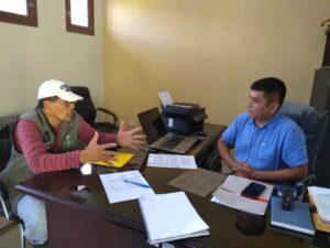 Reunión con Gerente Municipal Lalaquiz 200219