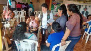 Reunión con los comités comunales de primera infancia, sobre agenda comunal.(margen Izquierda (2)