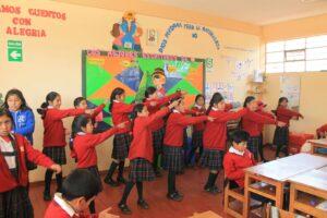 Practicando en Andahuaylillas (2)